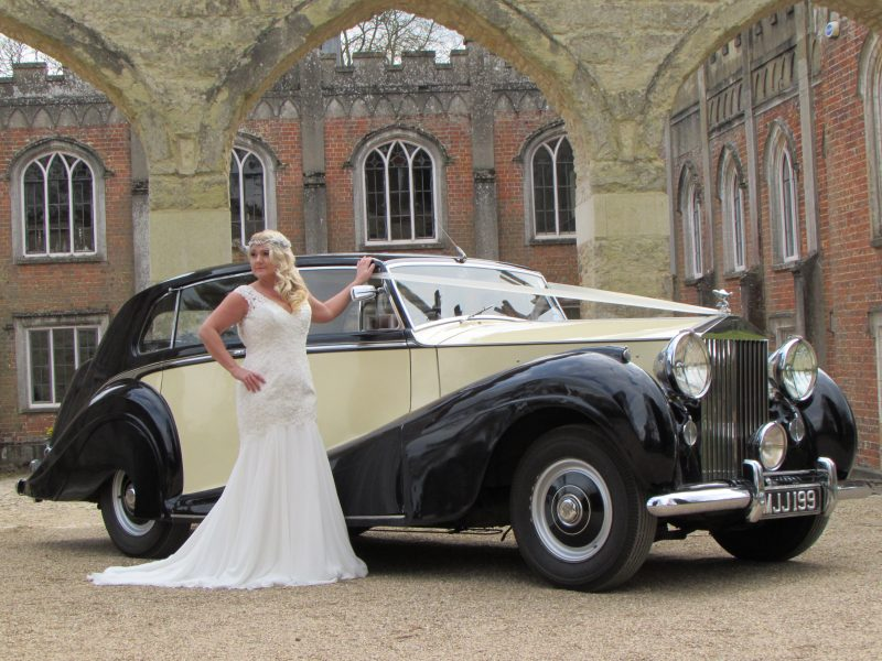 Wedding Cars, 1951 Rolls Royce Silver Wraith – Touring Limousine