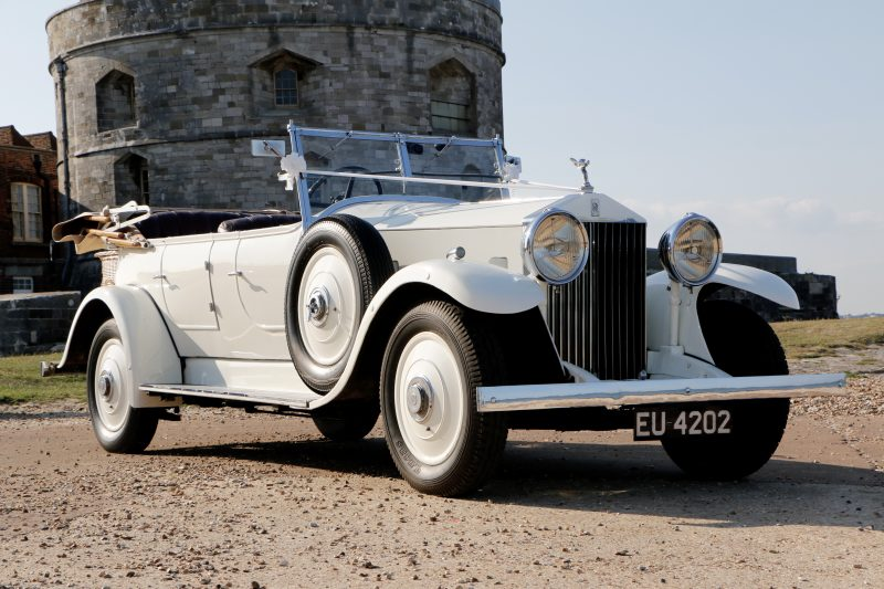 1936 Rolls Royce Open Tourer - Wedding Day Cars