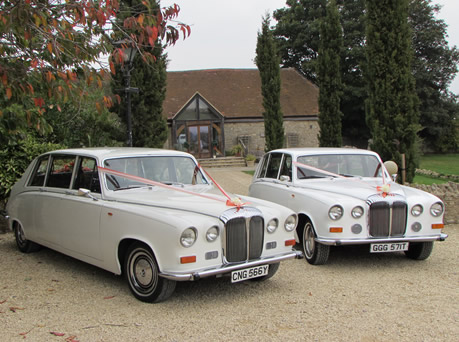 Wedding Cars, Daimler DS420 Limousines