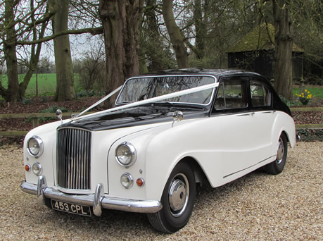 "1957 Austin Princess DS7 Saloon ""Harold"" - Wedding Day Cars"