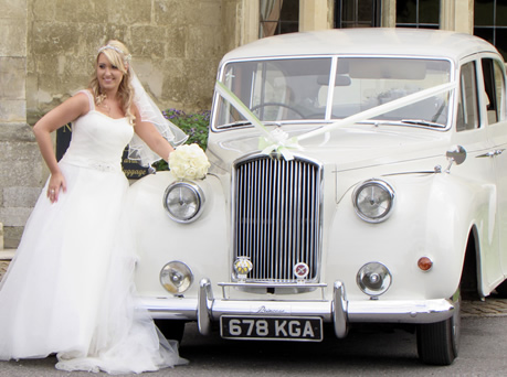 "1963 Austin Princess Limousine ""Ivy"" - Wedding Day Cars"