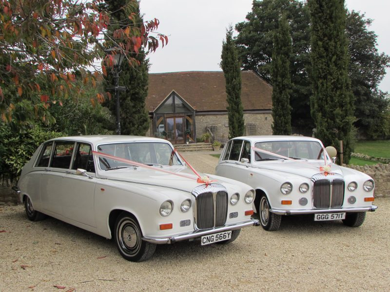 Daimler DS420 Limousines - Wedding Day Cars