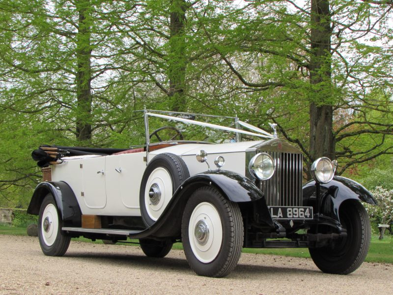 Wedding Cars, 1932 Rolls Royce Open Tourer