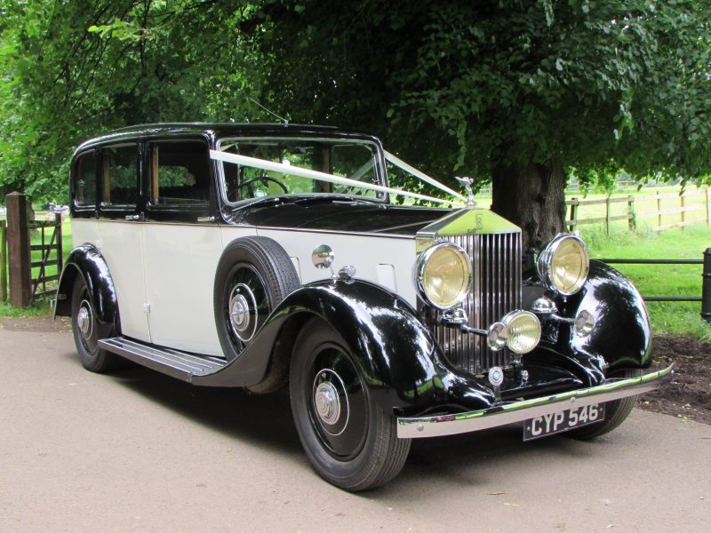 Wedding Cars, 1936 Rolls Royce 25/30 Limousine