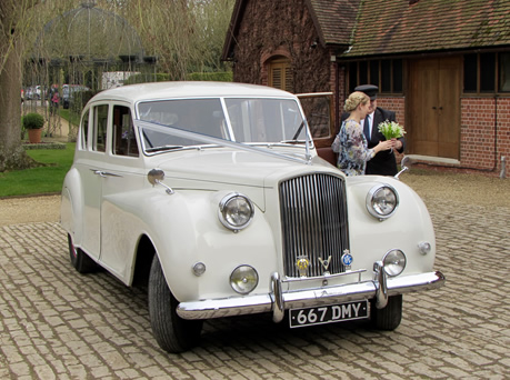 1955 Austin Princess Limousine - Wedding Day Cars