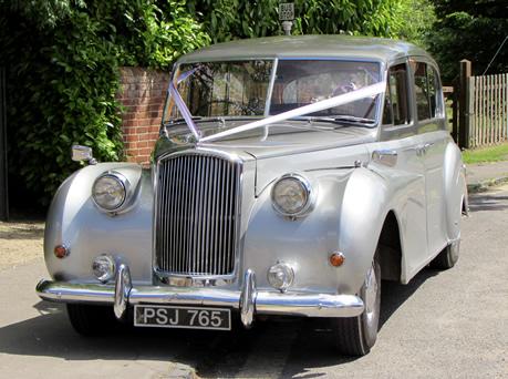 "Wedding Cars, 1961 Austin Princess Limousine ""Tess"""