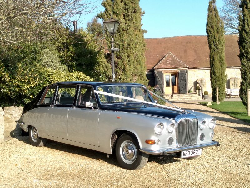 Wedding Cars, Daimler DS420 Limousine Daisy